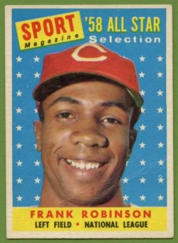 1958 Topps All star Frank Robinson