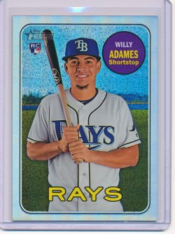 Willy Adames 2018 Topps Heritage Chrome Refractor RC /569