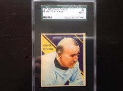 1935  National Chicle Knute Rockne