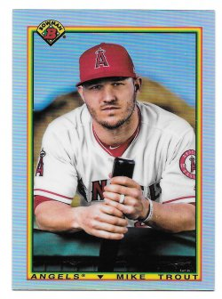 2020 Topps Bowman Chrome 90 Bowman Mike Trout