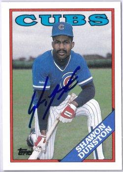 1988 Topps  Shawon Dunston