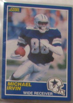 1989 Score  #18 - Michael Irvin RC