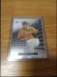 2013 Topps Finest  Gerrit Cole RC