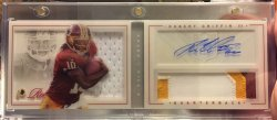 2012 Panini Playbook Robert Griffin III Silver Rookie Patch Auto/149
