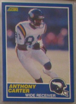 1989 Score  #20 - Anthony Carter