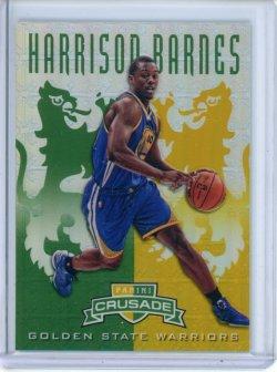 2012-13 Panini Crusade Harrison Barnes Green Prizm