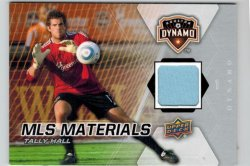 2012 Upper Deck MLS Materials Tally Hall