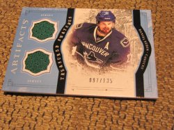 2011 Upper Deck Artifacts Daniel Sedin