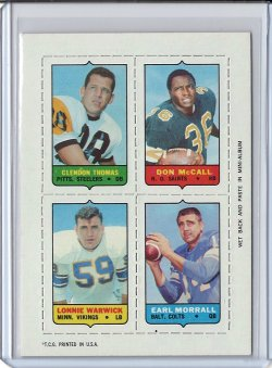 1969 Topps 4-In-1 Don McCall