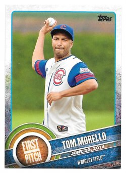 2015 Topps Topps First Pitch Tom Morello