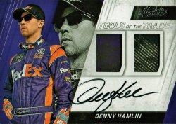 2017 Panini Absolute Racing Denny Hamlin