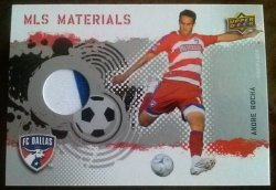 2009 Upper Deck MLS Materials Andre Rocha
