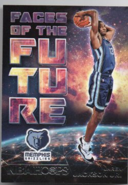2018-19 Panini Hoops Jackson Jr, Jaren - Faces of the Future