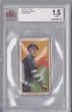 1909  T206 George Davis - Piedmont 350