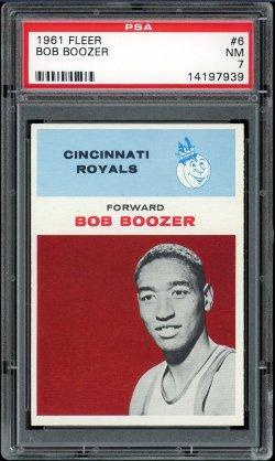 1961 Fleer  Bob Boozer