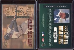 1997  Donruss Limited Fabric of the Game SS   Frank Thomas