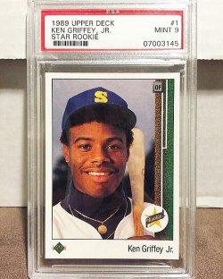 1989 Upper Deck  Ken Griffey Jr. PSA 9