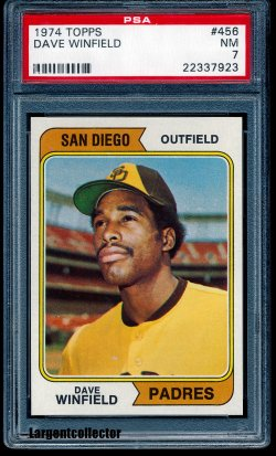 1974 Topps  Dave Winfield