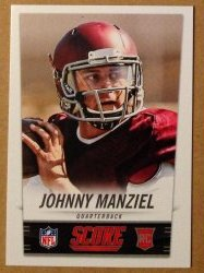 2014 Panini Score NFL Draft Promo #1 Johnny Manziel RC