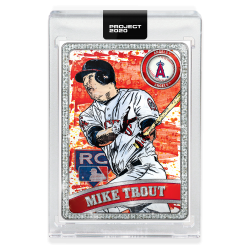 2020 Topps Project 2020 Mike Trout by Blake Jamieson