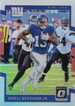 2017 Panini Donruss Optic Holo Odell Beckham Jr.