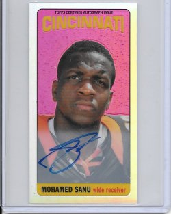 2012 Topps Chrome 1965 Refractor Autograph - Mohamed Sanu