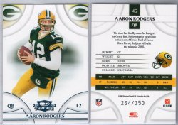 2008 Playoff Threads Aaron Rodgers
