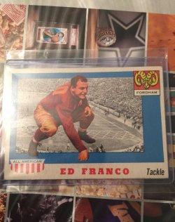 1955 Topps All-American Ed Franco
