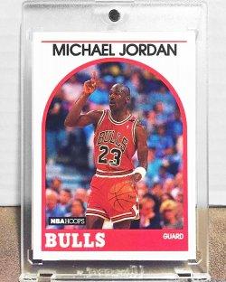 1989  NBA Hoops Michael Jordan