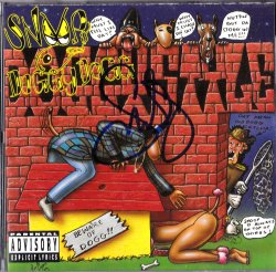 1993  Doggystyle Album Cover Snoop Dogg IP Autograph