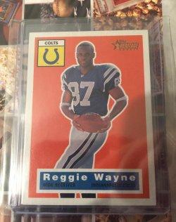 2001 Topps Heritage Reggie Wayne