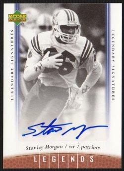 2006 Upper Deck Legends Legendary Signatures Stanley Morgan