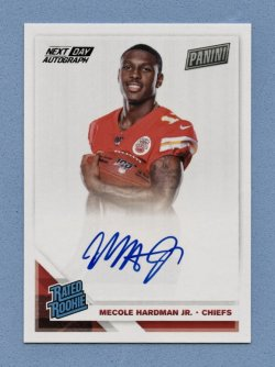 2019 Panini National Convention Next Day Autographs #RPSMH Mecole Hardman Jr.