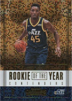 2017-18 Panini Contenders Mitchell, Donovan - Rookie of the Year Contenders