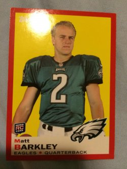 2013 Topps  Matt Barkley 1969 (target red variation)