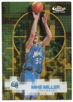2000-01 Topps Finest Miller, Mike - Gold Refractors