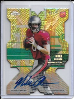 2013 Topps Chrome Rookie Die Cut Autograph - Mike Glennon