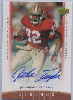 2006 Upper Deck Legends Autographs John Taylor