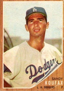 1962 Topps  Sandy Koufax