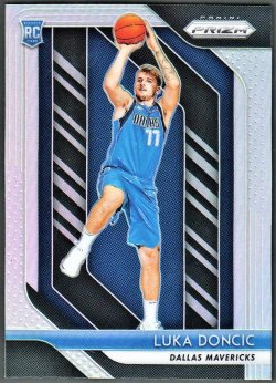 2018-19   Luka Doncic Prizm Silver Refractor RC #5