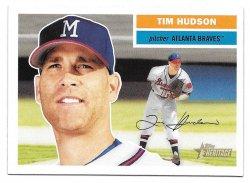 2005 Topps Topps Heritage Tim Hudson (SP - Milwaukee Cap)