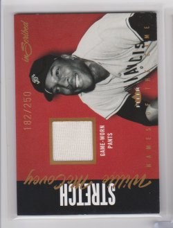 2004 Fleer inscibed  names of the game willie mccovey