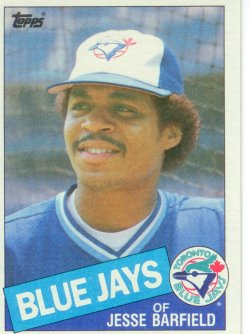 1985 Topps Topps Chewing Gum Jesse Barfield - OF