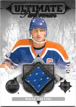 2016-17 Upper Deck Ultimate Collection Performers Materials Wayne Gretzky