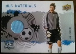 2009 Upper Deck MLS Materials Joe Cannon