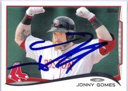 2014 Topps  Jonny Gomes IP Auto