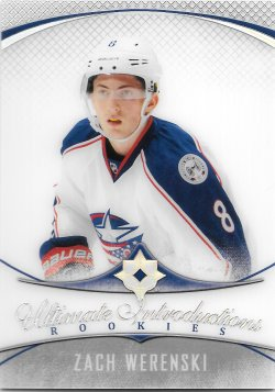 2016-17 Upper Deck Ultimate Collection Introductions Zach Werenski