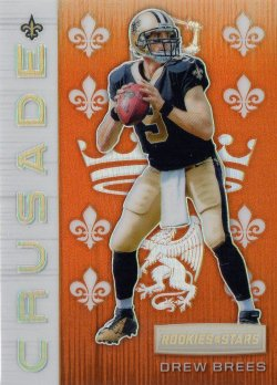 2018 Panini Rookies and Stars Crusade Orange Drew Brees