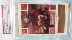 1988  McDonalds  Roger Craig - - Gold/Orange