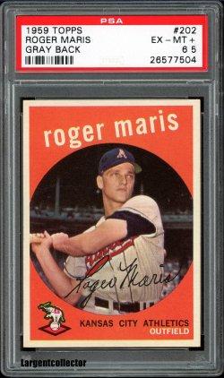 1959 Topps  Roger Maris